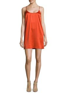 French Connection Afia Crinkle Slip Dress