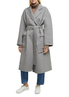 FRENCH CONNECTION Agatima Oversized Belted Coat