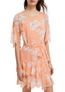 French Connection Alba Floral Shift Dress