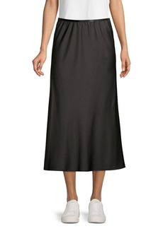 French Connection Alessia Draped Midi Skirt