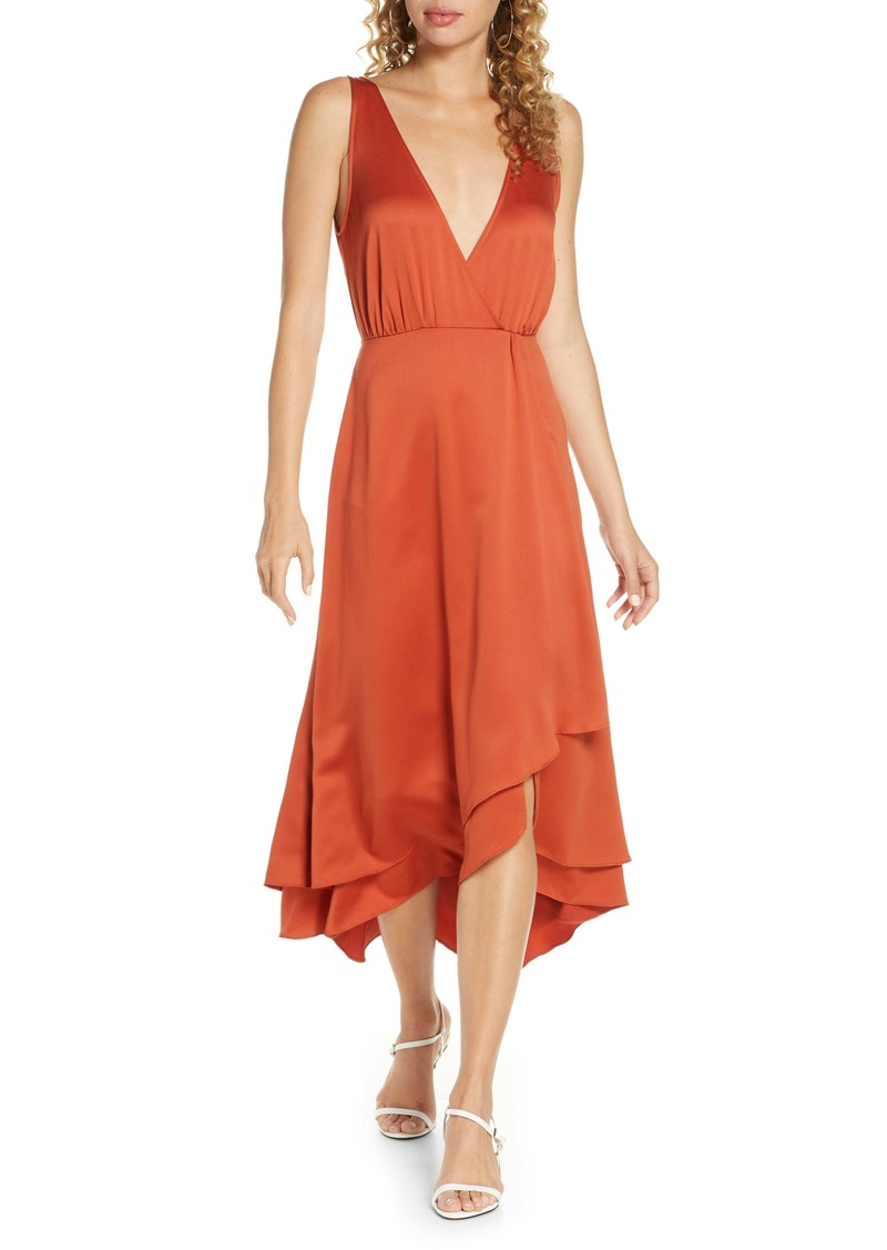 French Connection Alessia Sleeveless Midi Dress