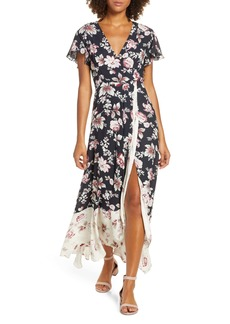 French Connection Aletta High/Low Maxi Dress
