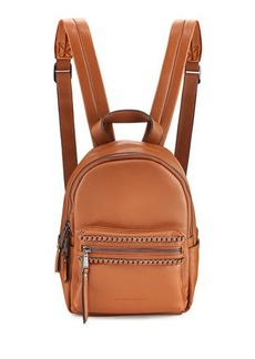 French Connection Alexa Woven Chain Mini Backpack