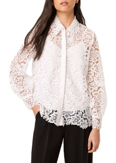 French Connection Amalie Lace Blouse