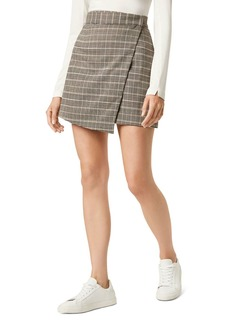 FRENCH CONNECTION Amati Check Mini Wrap Skirt