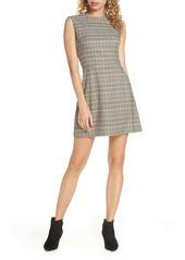 French Connection Amati Check Sundae Sleeveless A-Line Dress