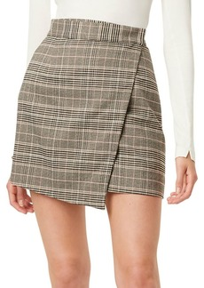 French Connection Amati Checkered Mini Skirt