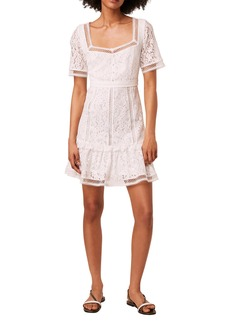 French Connection Amisha Mixed Lace Dress