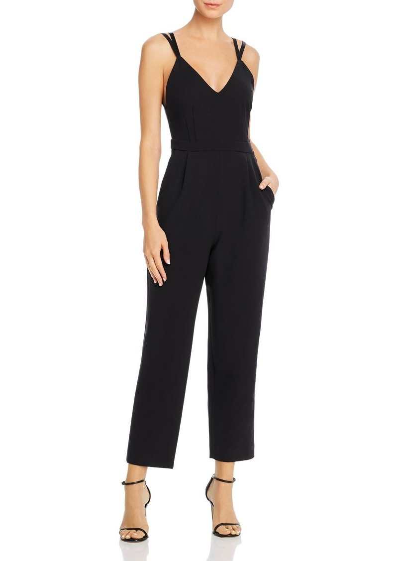 FRENCH CONNECTION Anana Whisper Cropped Sleeveless Jumpsuit