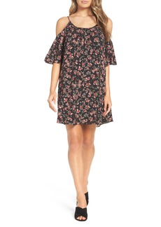 French Connection Anastasia Cold Shoulder Dress