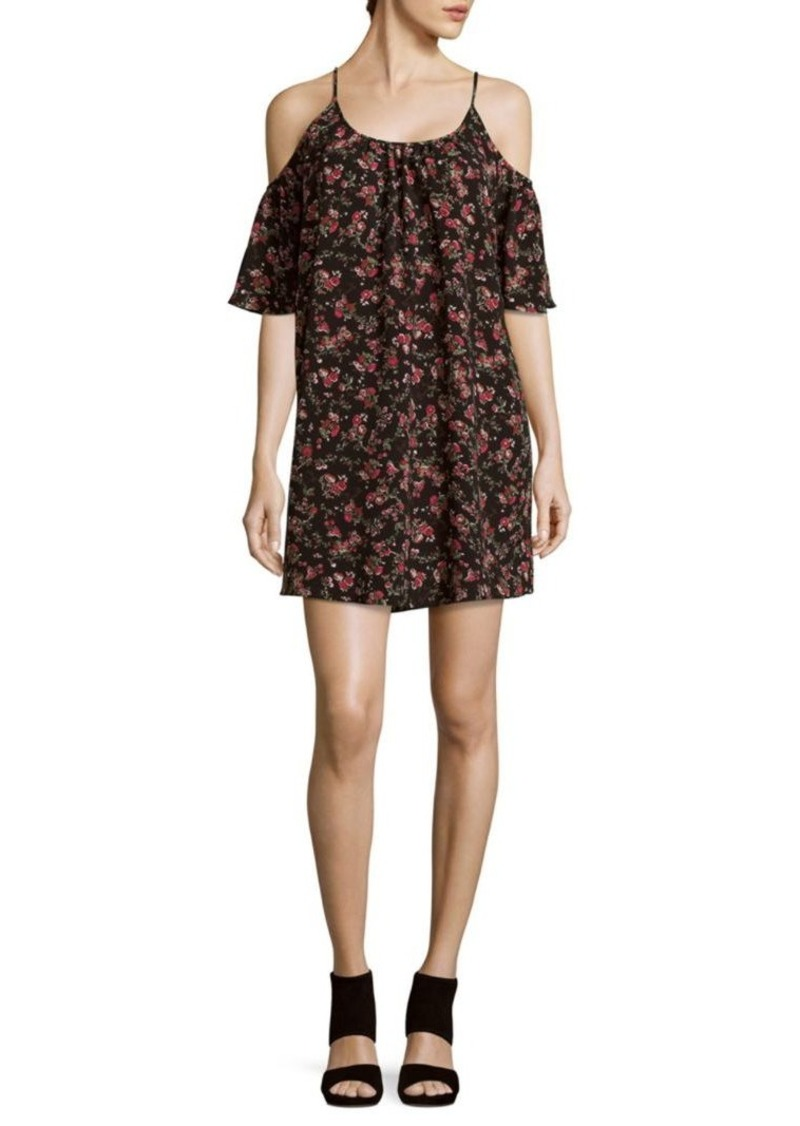 French Connection Anastasia Ditsy Floral-Print Shift Dress