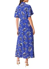 French Connection Andini Print Maxi Shirtdress