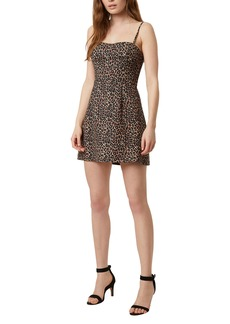 French Connection Animal Print Minidress