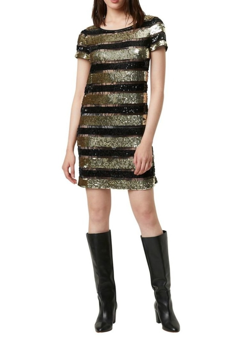 French Connection Anni Sequin Shift Dress
