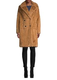 French Connection Annie Faux Fur Coat