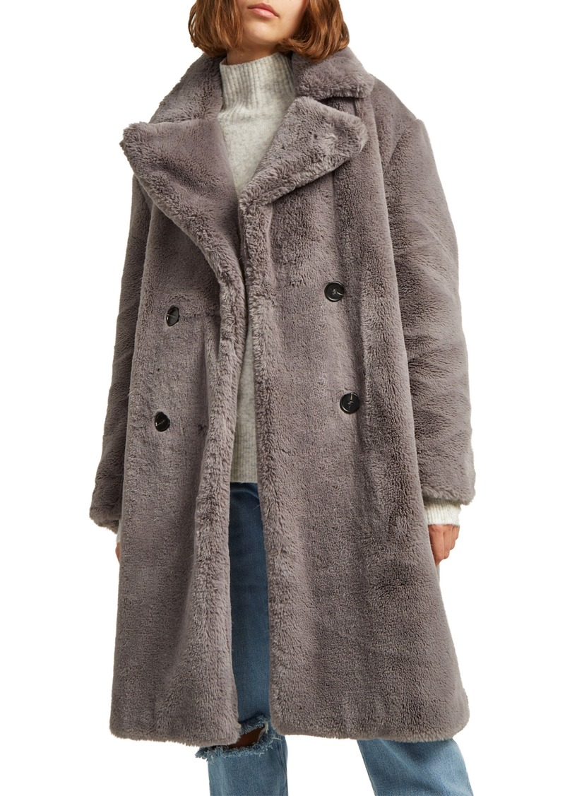 French Connection Annie Faux Fur Jacket
