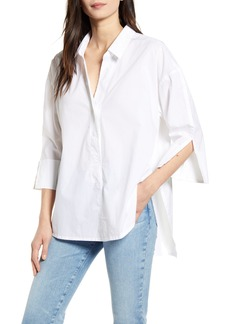 French Connection Aoko Rhodes Poplin Button-Up Shirt