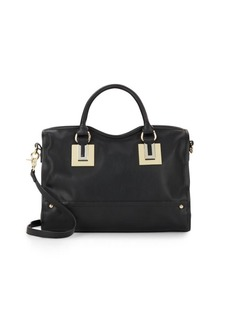 French Connection Arden Faux Leather Satchel