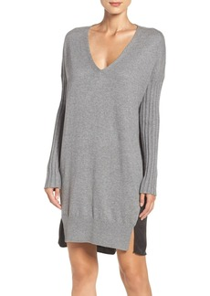 French Connection 'Aries' Mixed Media Sweater Dress