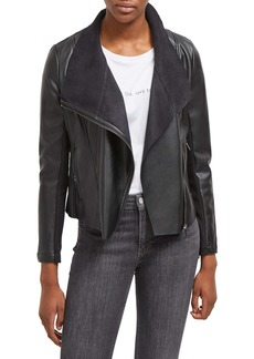 French Connection Armide Faux Leather Jacket