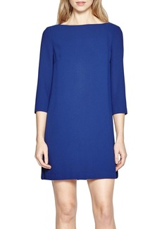 French Connection Arrow Crepe Shift Dress