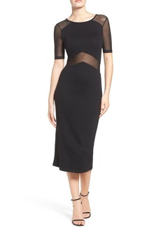 French Connection Arrow Stretch Midi Dress