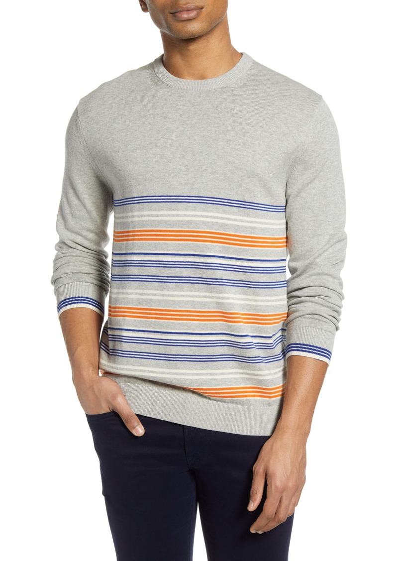 French Connection Auderly Stripe Crewneck Sweater
