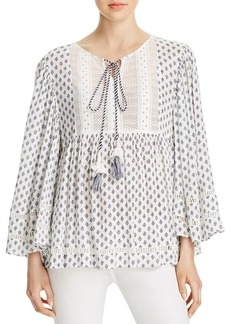 FRENCH CONNECTION Ava Tile Print Top