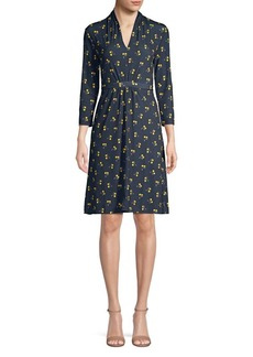 French Connection Aventine Woven Dress