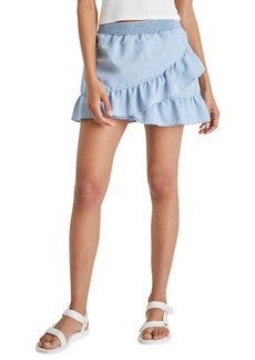 French Connection Aves Chambray Miniskirt