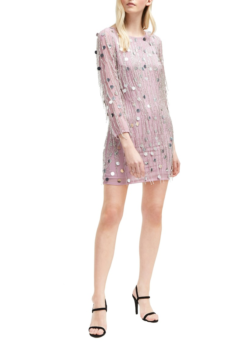 French Connection Baani Fringe Dress