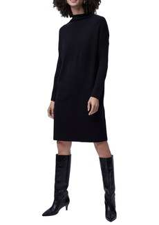 French Connection Babysoft Roll Neck Long Sleeve Dress