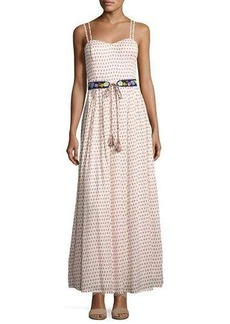 French Connection Bacongo Dot Maxi Dress