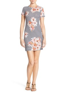 French Connection 'Bacongo' Print Jersey Sheath Dress