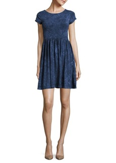 French Connection Beach Jersey Roundneck Dress
