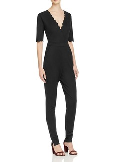 FRENCH CONNECTION Beau Scallop Jumpsuit