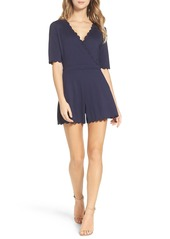 French Connection 'Beau' Scalloped Romper