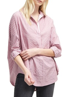 French Connection Bega Oversized Stripe Shirt