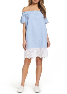 French Connection Belle Stripe Shift Dress