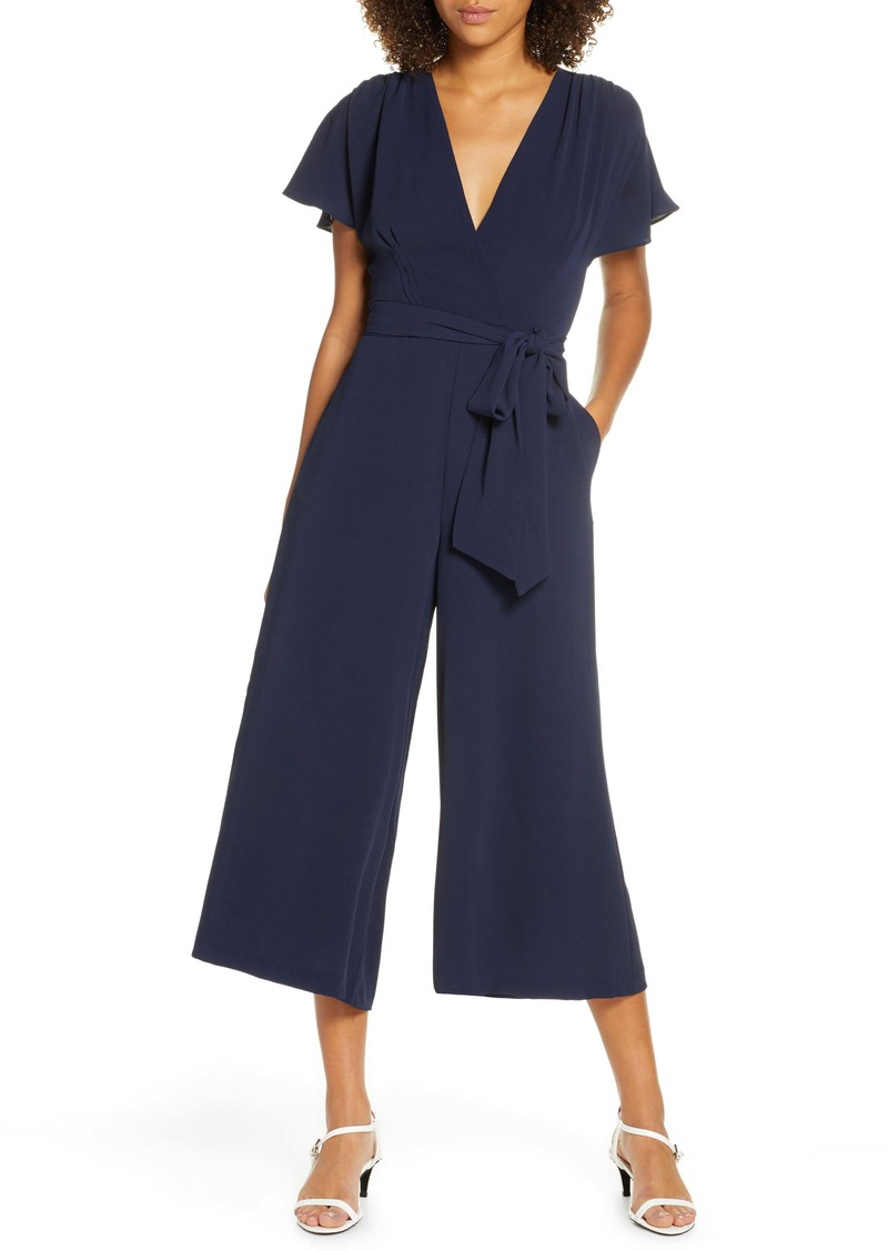 French Connection Bessie Crepe Verona Jumpsuit