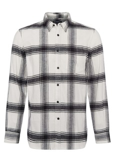 French Connection Big Checks Flannel Button-Up Shirt