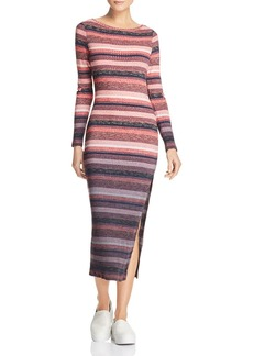 FRENCH CONNECTION Bintan Striped Knit Dress