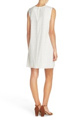 French Connection 'Bixa' Embroidered Cotton Shift Dress
