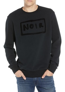 French Connection Black Sweatshirt