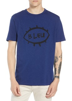 French Connection Bleu Slubbed T-Shirt