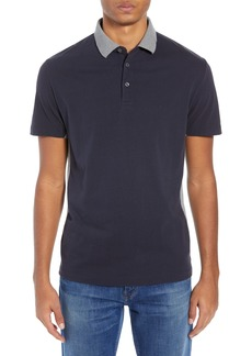 French Connection Block Side Panel Polo