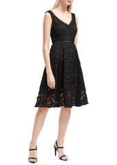French Connection Blossom Lace Fit & Flare Dress