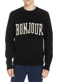 French Connection Bonjour Wool Blend Sweater