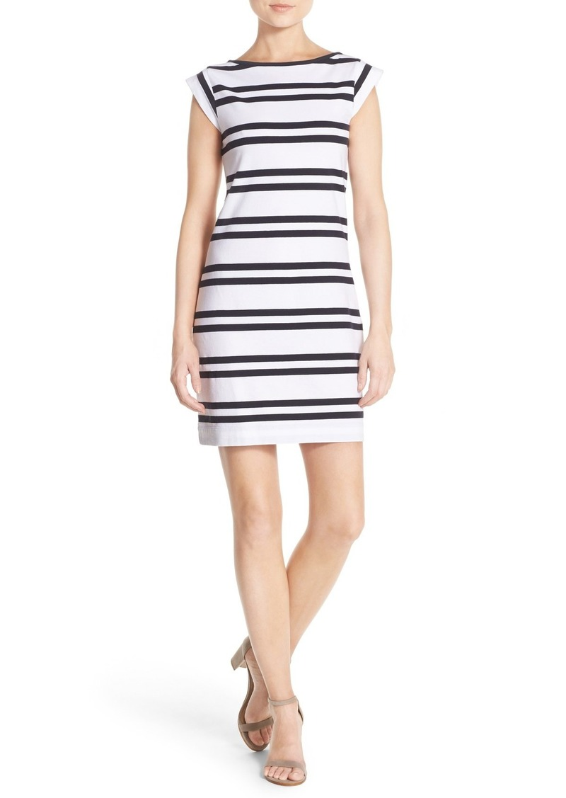 French Connection 'Born on the Beach' Stripe T-Shirt Dress