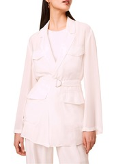 French Connection Brekhna Drape Jacket
